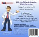 Bild 2 von Desinfektion, 10 Liter Desinfektionsmittel, BOZ Oberflächendesinfektion Konzentrat, für 50 Liter Gebrauchslösung