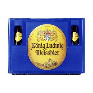 König Ludwig Weissbier Hell 20 x 0,5 Liter, jeder Kasten