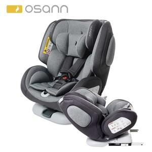 Kindersitz one360 Klasse 0+ bis 3 (0 - 36 kg), der mitwachsende Kindersitz für alle Alterklassen, einklappbare Isofix-Verbinder