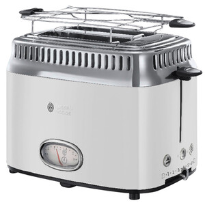 Russell Hobbs Retro Classic White Toaster