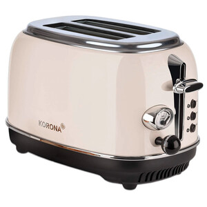 Korona Retro Toaster, beige