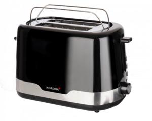 Korona Toaster, schwarz