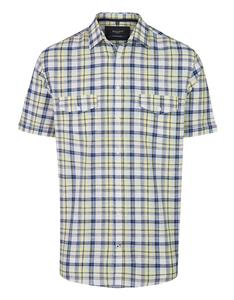 Bexleys man - Freizeithemd, kurzarm, kariert