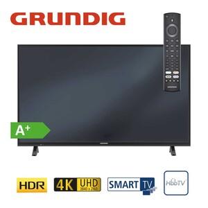 43 VLX 6000 – Fire TV Edition • 3 x HDMI, 2 x USB, CI+ • integr. Kabel-, Sat- und DVB-T2-Receiver • Maße: H 57,5 x B 97,5 x T 8,5 cm • Energie-Effizienz A+ (Spektrum A++ bis E)  Bildschirm