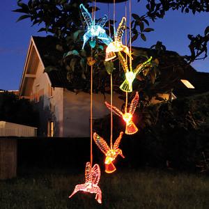 I-Glow LED Solar Hängeleuchte - Vögel