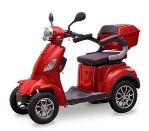 DocGreen Elektromobil E-Quad 1000 Rot
