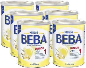 BEBA 6er-Pack Junior 1 ab dem 1. Geburtstag