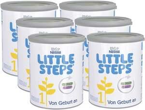 Little Steps 6er-Pack Anfangsmilch 1 von Geburt an