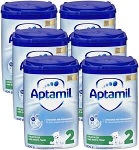 Aptamil 6er Pack Pronutra-ADVANCE 2 Folgemilch nach dem 6. Monat