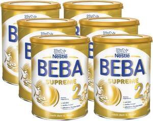 BEBA 6er-Pack SUPREME 2 Premium Folgenahrung