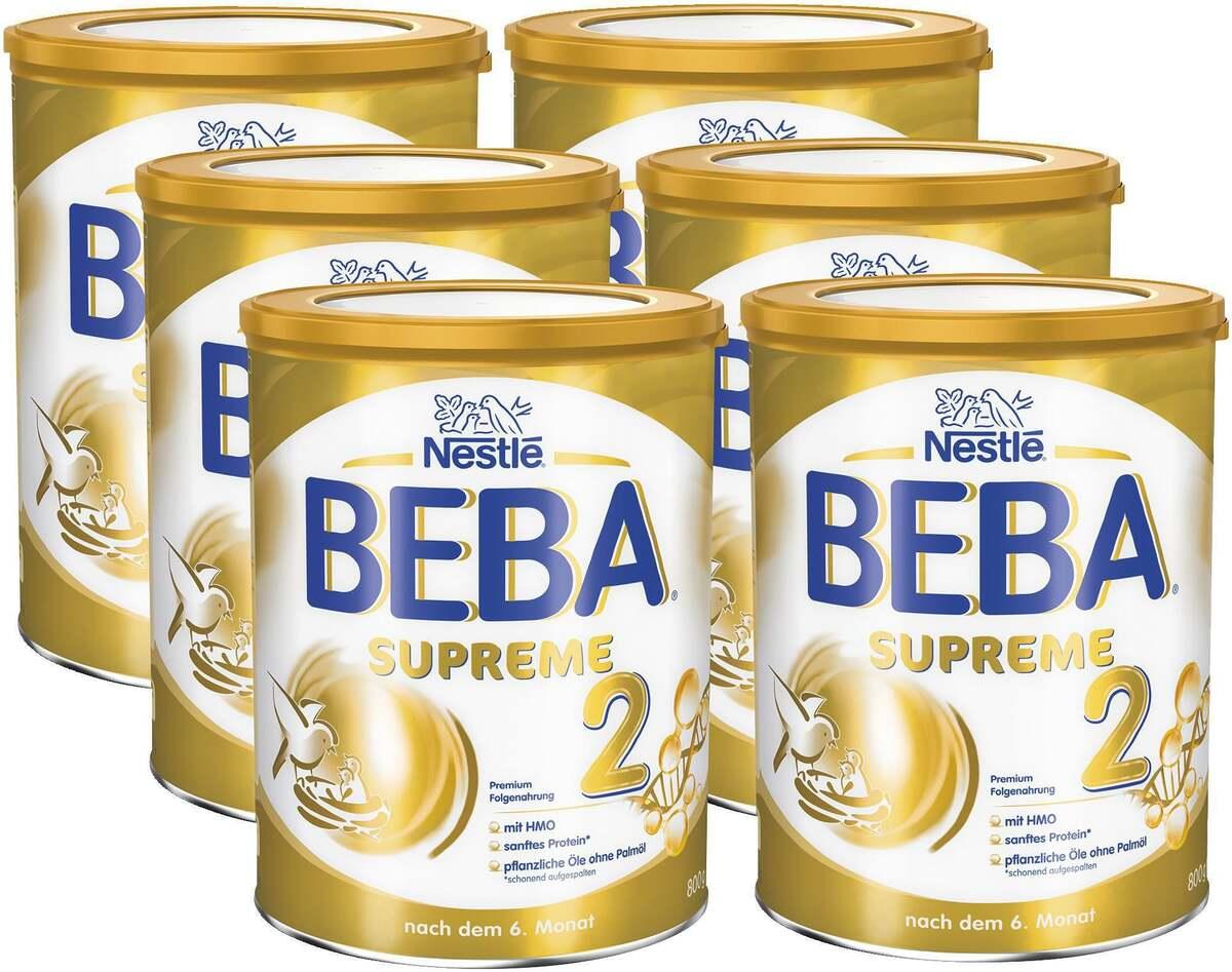 Bild 1 von BEBA 6er-Pack SUPREME 2 Premium Folgenahrung