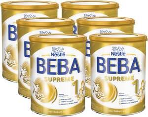 BEBA 6er-Pack SUPREME 1 Premium Anfangsnahrung