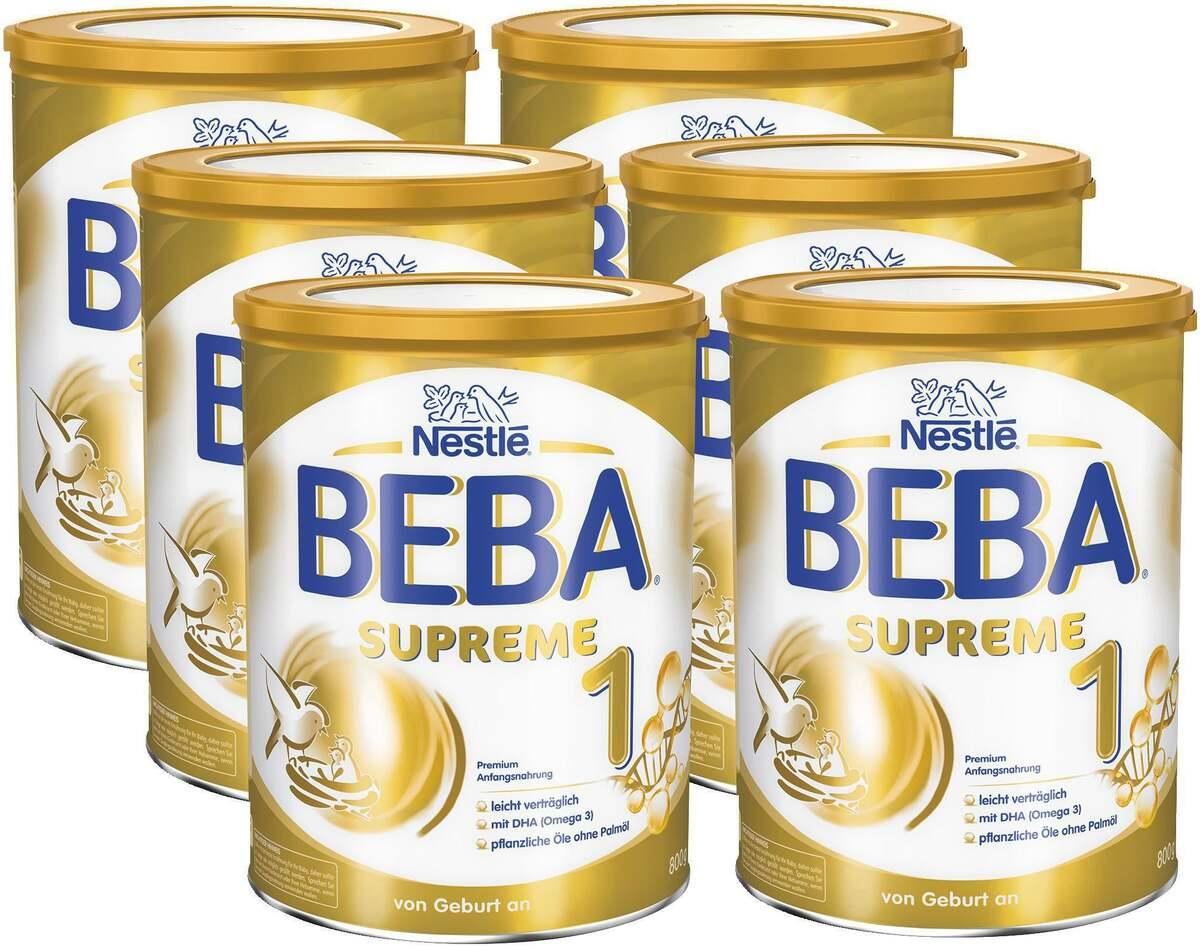 Bild 1 von BEBA 6er-Pack SUPREME 1 Premium Anfangsnahrung