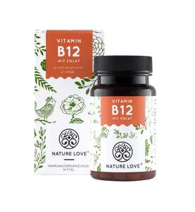 Nature Love Vitamin B12 Tabletten