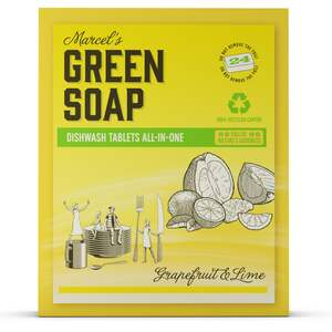 Marcel's Green Soap Geschirrspültabs Grapefruit & Lime