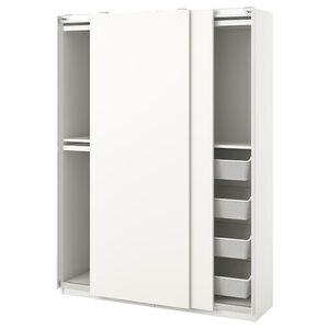 PAX / HASVIK Schrankkombination, weiß150x44x201 cm