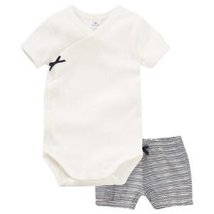 Newborn Wickelbody und Shorts im Set