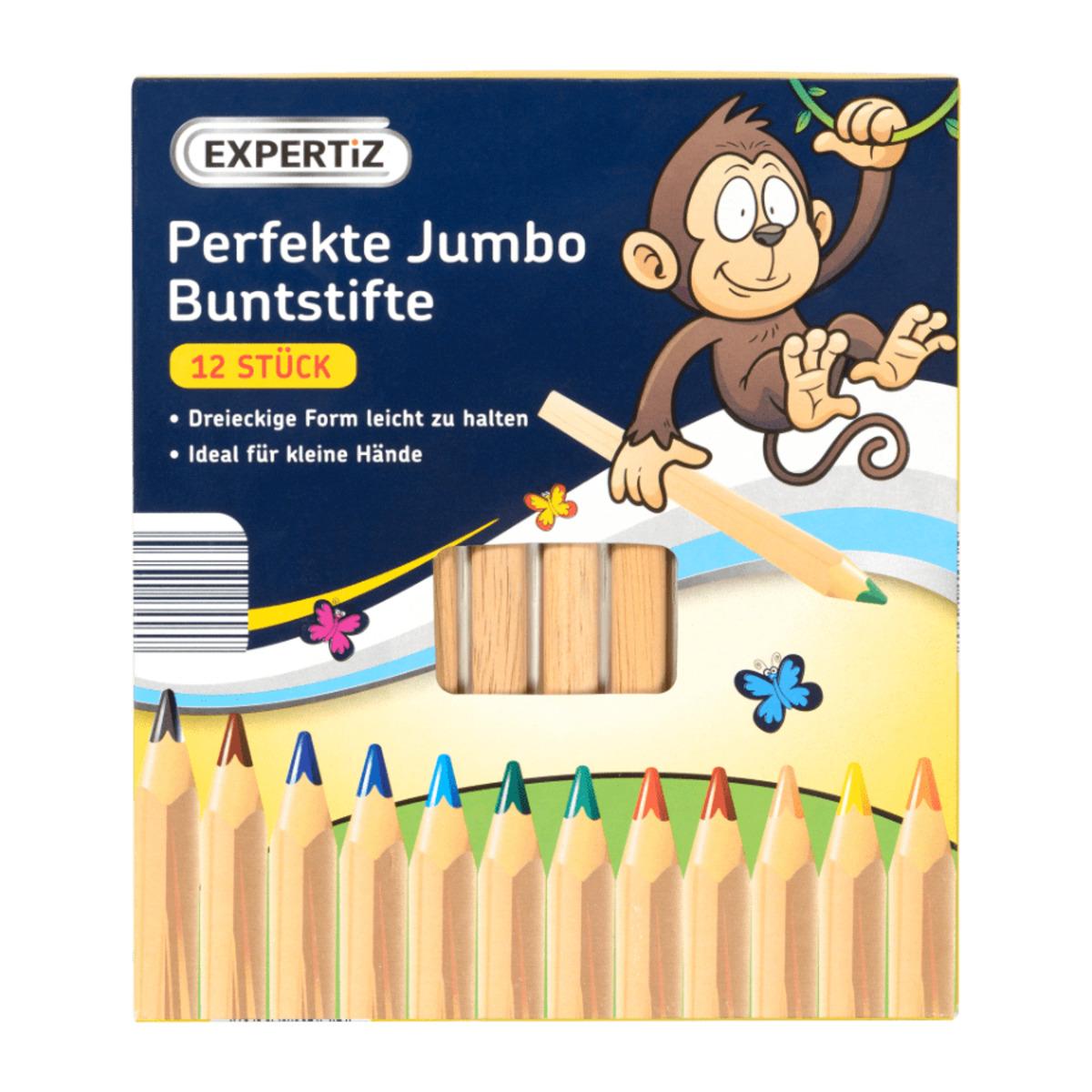 Bild 1 von EXPERTIZ     Perfekte Jumbo Buntstifte