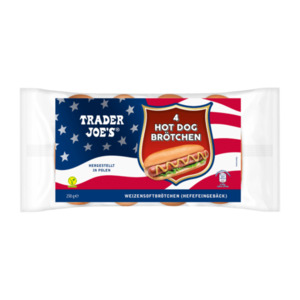 TRADER JOE'S  	   Hot Dog Brötchen