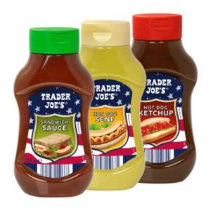 TRADER JOE'S     Sauce / Ketchup / Senf