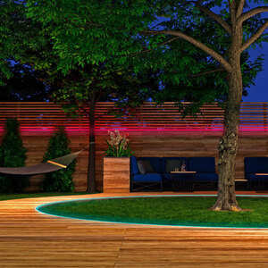 Smarter Outdoor LED-Strip tint white+color, 5 m
