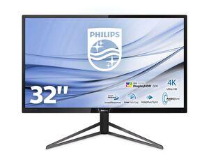 PHILIPS Monitor »326M6VJRMB/00«, 4K UHD, 31,5 Zoll, 3840 x 2160 Pixel, 4 ms Reaktionszeit