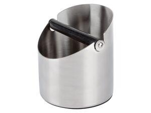 ERNESTO® Abklopfbehälter, 1 l Fassungsvermögen, mit abnehmbarer Stange, aus Edelstahl