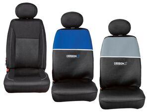 ULTIMATE SPEED® Autositzschonbezüge, Set für 2 Vordersitze, 1 Rücksitzbank und 5 Kopfstützen