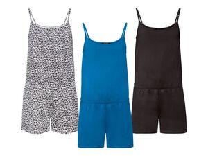 ESMARA® Jumpsuit Damen, mit verstellbaren Trägern, aus reiner Baumwolle