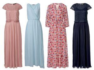 ESMARA® Kleid Damen, blickdicht