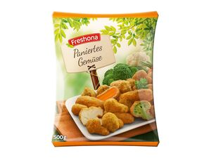 Paniertes Gemüse
