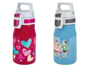 SIGG Kinder Trinkflasche, mit auslaufsicherem Verschluss, BPA-frei, aus Edelstahl