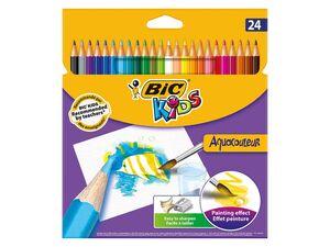 BIC Kids Aquacouleur Wasservermalbare Buntstifte