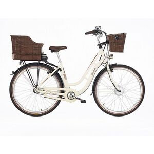 "Fischer Retro E-Bike 3G ER 1804-S1 28"" Damen beige"