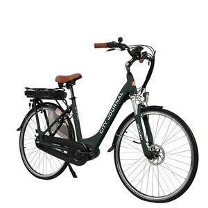 "AsVIVA E-Bike 28"" Hollandrad B14 - 36V Elektrofahrrad Pedelec Mittelmotor grau"