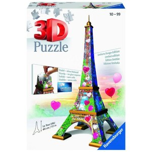 Ravensburger 3D Puzzle: Eifelturm Love Edition