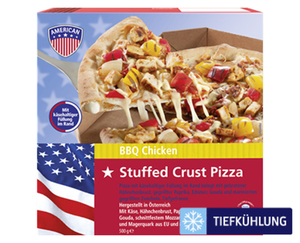AMERICAN Stuffed Crust Pizza