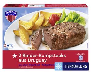 AMERICAN Rinder-Rumpsteaks