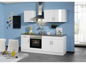 HELD Küchenzeile »Atlanta«, Leerblock, B 210 cm, aus MDF, 28 mm Arbeitsplatte
