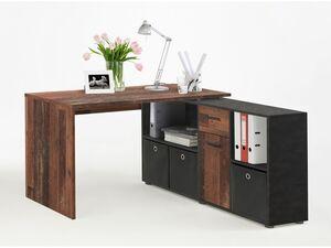 FMD Winkel-Schreibtischkombination »LEX«, ergonomische Höhe, flexible Aufbauvarianten