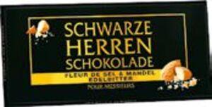 Sarotti Schwarze Herren Schokolade Edelbitter oder Fleur de Sel & Mandel Edelbitter