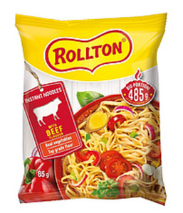 """Instantnudelgericht """"Rollton"""" mit Rindfleischgeschmack"""