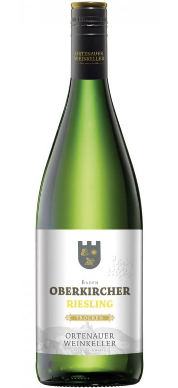 Ortenauer Weinkeller Oberkircher Riesling trocken 2018 1L