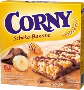 Corny Schoko-Banane Riegel 6x 25 g