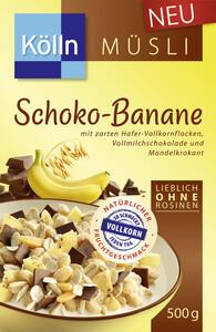 Kölln Müsli Schoko-Banane 500 g