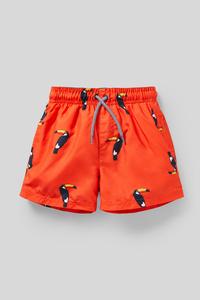 C&A Badeshorts-recycelt, Orange, Größe: 122/128