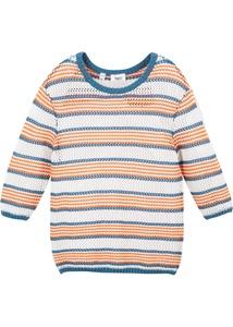 Mädchen Pullover mit Streifen