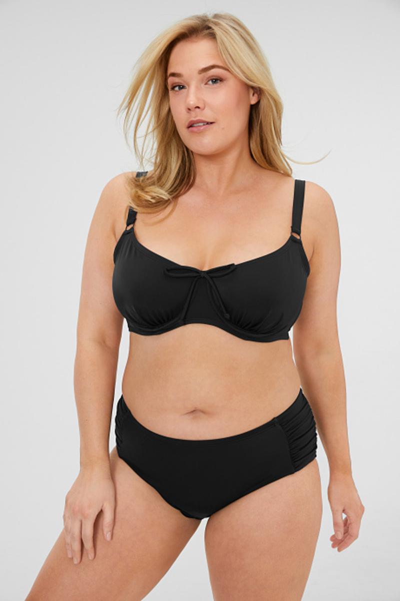 Bild 1 von C&A Bikini-Hose, Schwarz, Größe: 54