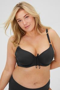 C&A DORINA-Bikini-Top mit Bügel-wattiert, Schwarz, Größe: 70 G