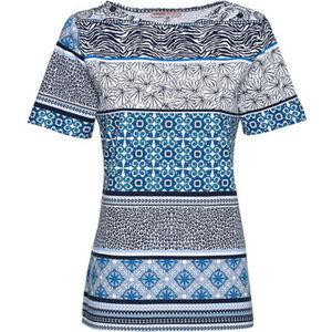 Adagio T-Shirt, Bordüre, für Damen